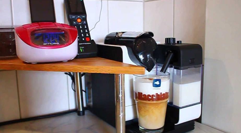 Delonghi Nespresso Lattissima+ EN520