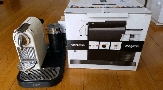Nespresso Magimix M190 CitiZ and Milk
