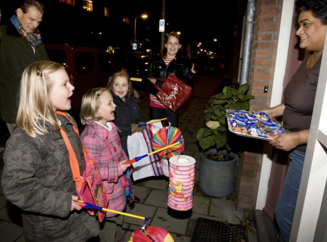 Het Sint Maarten feest in Nederland en België