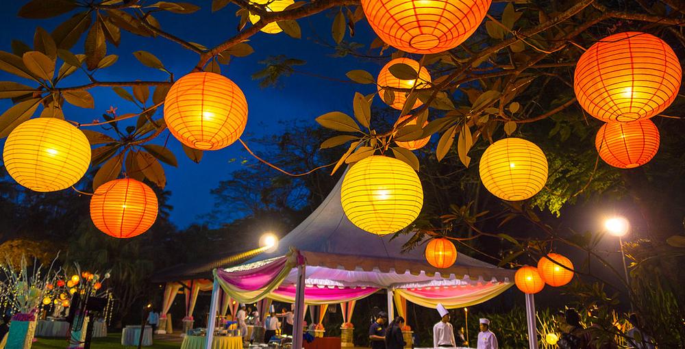 Lampionnen voor elk evenement en ter decoratie