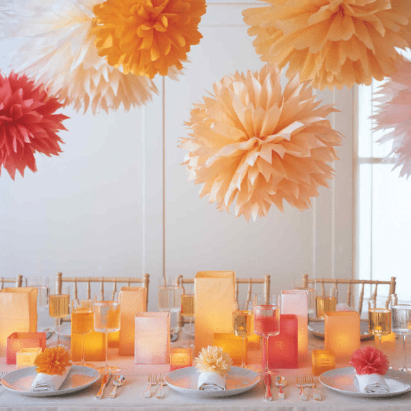 Pompons ter decoratie