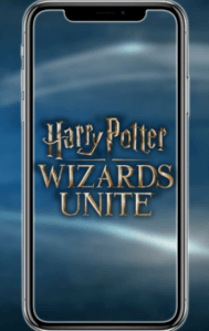 Opkomende AR Harry Potter Wizards Unite game