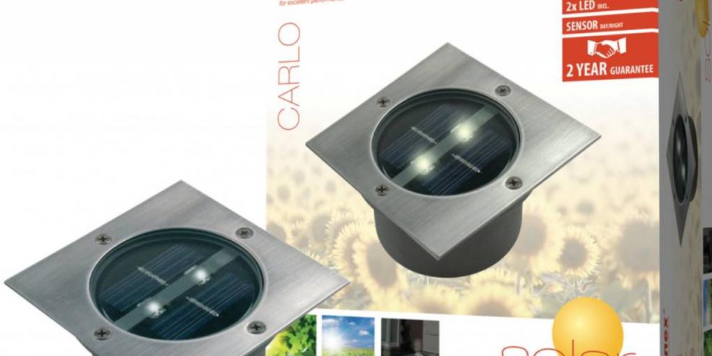 Ranex Carlo LED Solar Grondspot