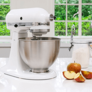 KitchenAid Classic Mixer 5K45SSEWH Wit
