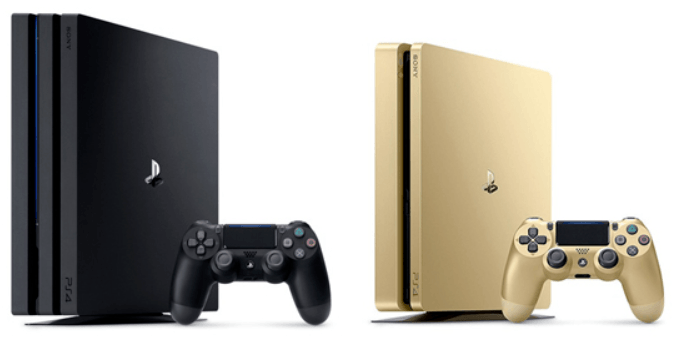 Het verschil tussen de Sony Playstation 4 Pro en de Playstation Slim versie