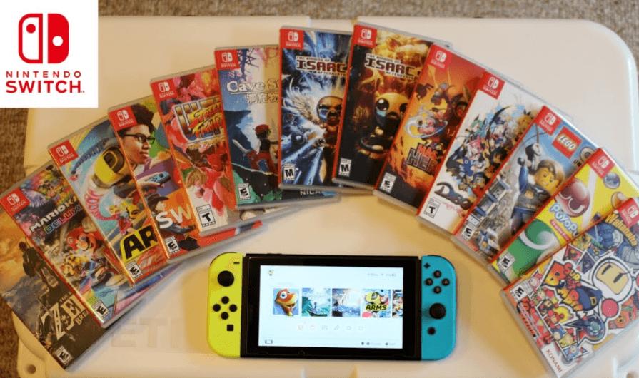 Nintendo Switch games kopen op Black Friday