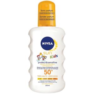 Nivea Sun Kids Protect & Sensitive Zonnespray SPF 50+