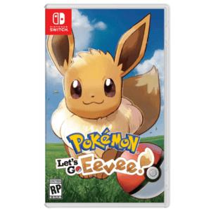 Review van de game Pokemon Let's Go Eevee Switch voor de Nintendo Switch voordelig op Black Friday