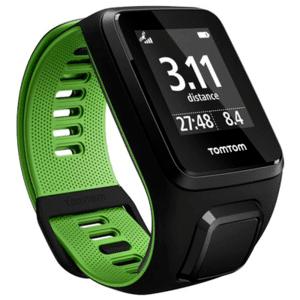TomTom Runner 3 Cardio Black Green - L