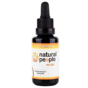Natural People 4% CBD olie (30ML)