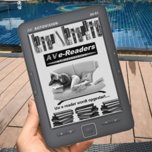 Autovision Av-61 Ereader 6Inch Ink Hd