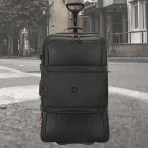 Delsey Montsouris Expandable Trolley Case 78cm Zwart