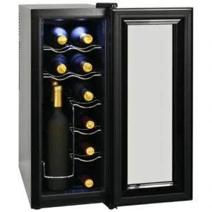 Wijnkoeler met LCD-scherm 35 L