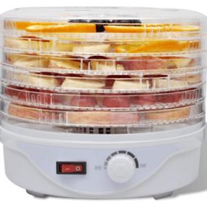 VidaXL Voedseldroger met 6 stapelbare lades