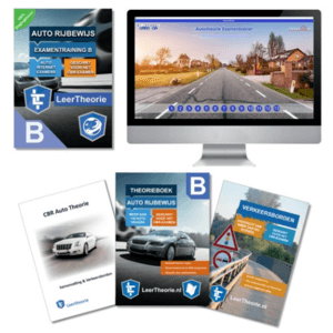 Auto Theorieboek 2019 met Samenvatting - Verkeersbordenboekje en Auto Theorie Online Examens - CBR theorie Leren en Oefenen