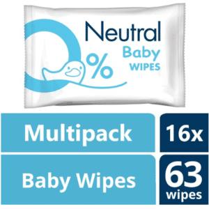 Neutral 0% Baby Billendoekjes