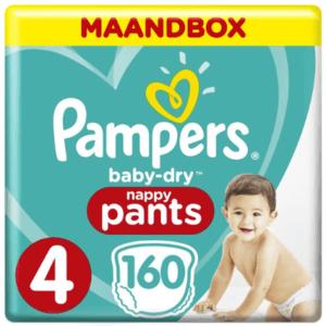 Pampers Baby-Dry Pants Luierbroekjes - Maat 4