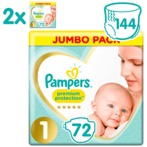 Pampers Premium Protection - Maat 1